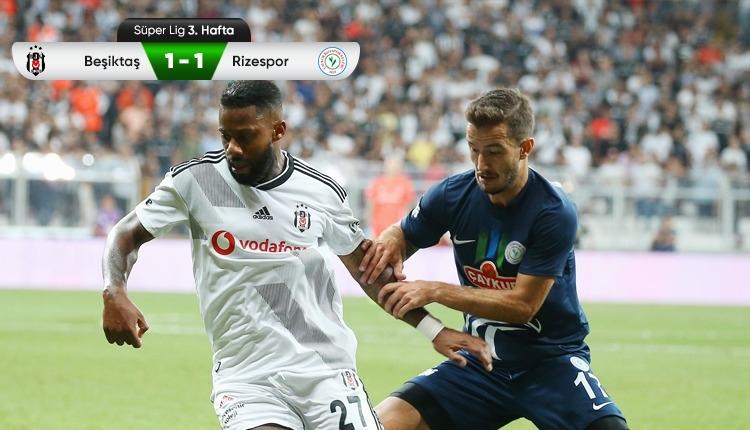 Beşiktaş'tan sahasında 2 puan kaybı
