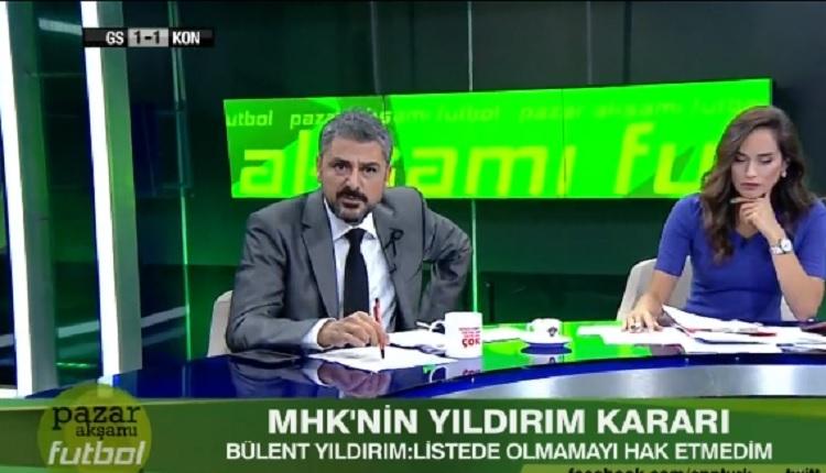 Bülent Yıldırım'dan MHK'ya: