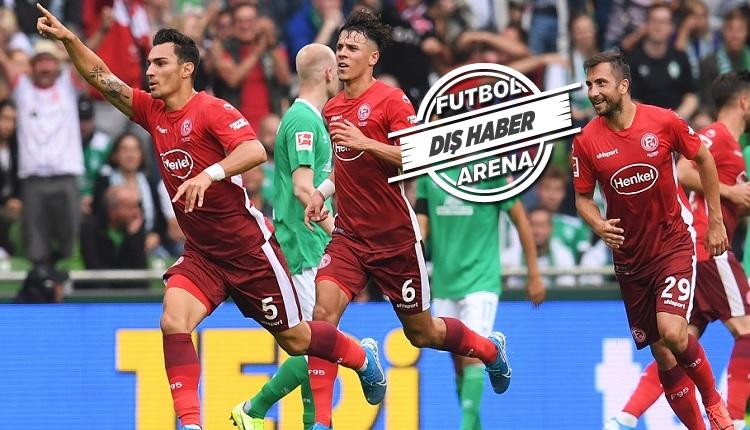Bundesliga'da Kaan Ayhan ve Kenan Karaman fırtınası