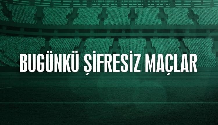 Canlı şifresiz maç izle, Süper Lig canlı yayın (Premier Lig, Almanya, İspanya Ligi canlı İZLE)