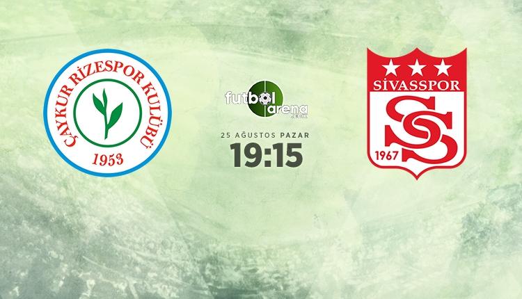 Çaykur Rizespor - Demir Grup Sivasspor canlı, şifresiz izle (beIN Sports Rize - Sivasspor canlı izle)
