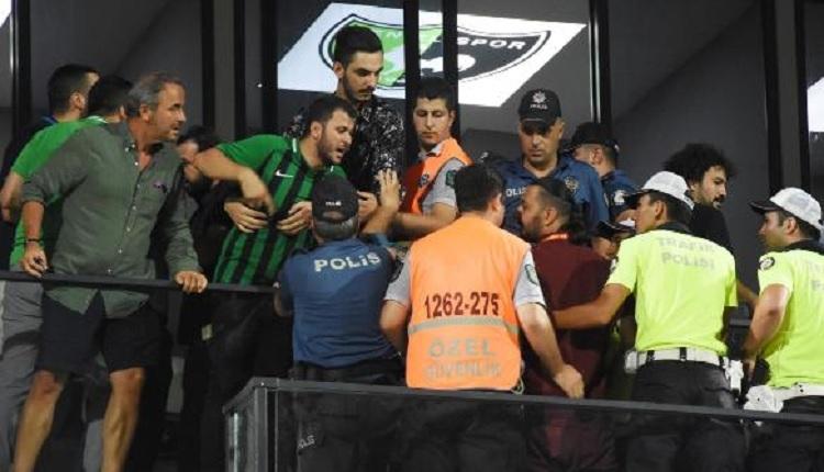 Denizli'de maç sonu olay! Hasan Şaş ve Necati Ateş'le taraftarlar