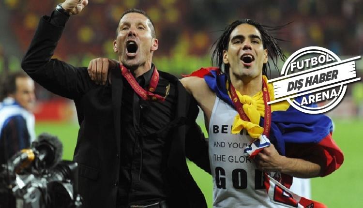 Diego Simeone Falcao'yu anlatıyor: