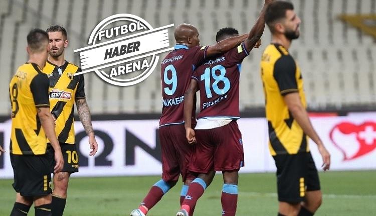 Ekuban'dan Avrupa Ligi'nde AEK maçında hat trick!