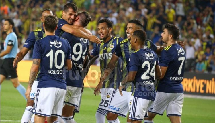 Fenerbahçe 5-0 Gazişiehir Gaziantep maç özeti ve golleri (İZLE)