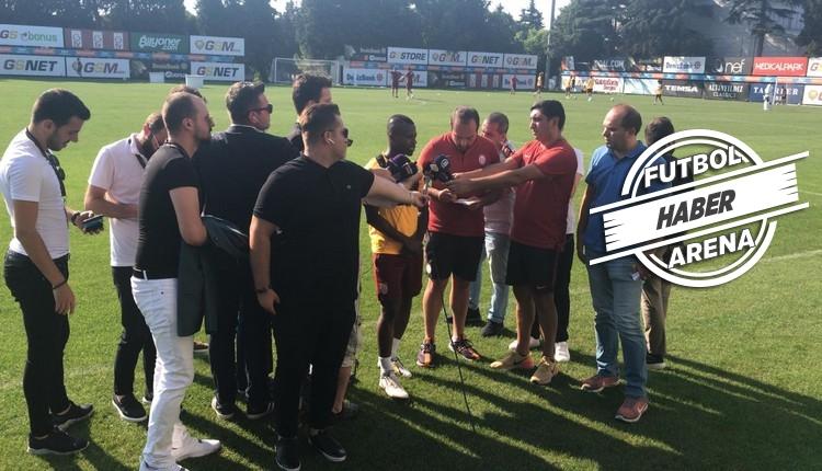 FutbolArena Galatasaray antrenmanında | Takımdan gelişmeler