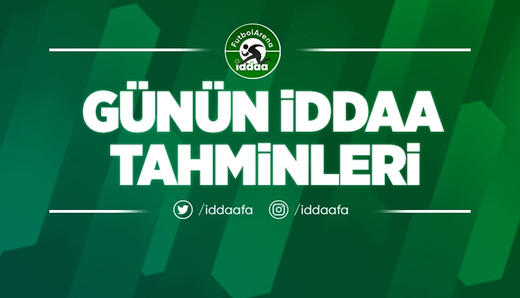 FutbolArena yazarı Öyküm Kanbir'in Cumartesi günü İddaa yorumları