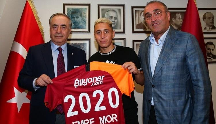Galatasaray, Emre Mor'un sözleşme detaylarını açıkladı