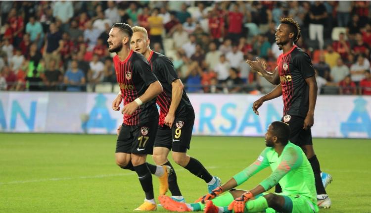 Gazişehir Gaziantep 4-1 Gençlerbirliği maç özeti ve golleri (İZLE)