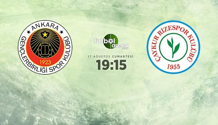 Gençlerbirliği 0-1 Çaykur Rizespor maç özeti (İZLE)