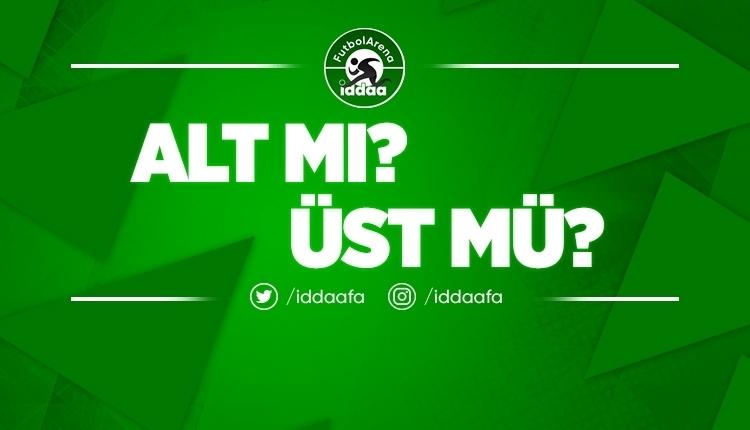İddaa'da günün en çok oynanan ALT - ÜST tahminleri! (11 Ağustos 2019 Pazar)