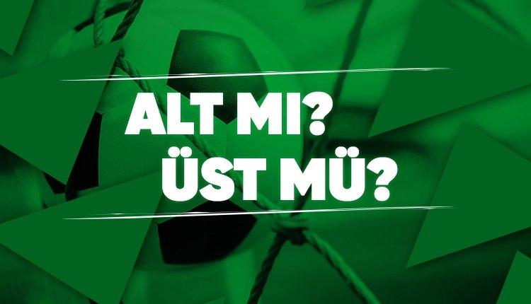 İddaa'da günün en çok oynanan ALT - ÜST tahminleri! (24Ağustos 2019 Cumartesi)