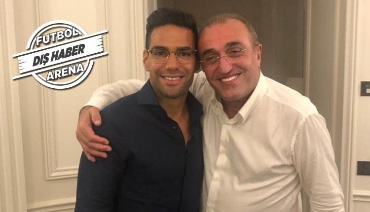 Galatasaray'a Falcao müjdesi! Heyecan yaratan fotoğraf