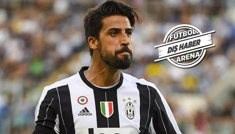 Juventus'tan Khedira kararı! Bedelsiz bırakacak