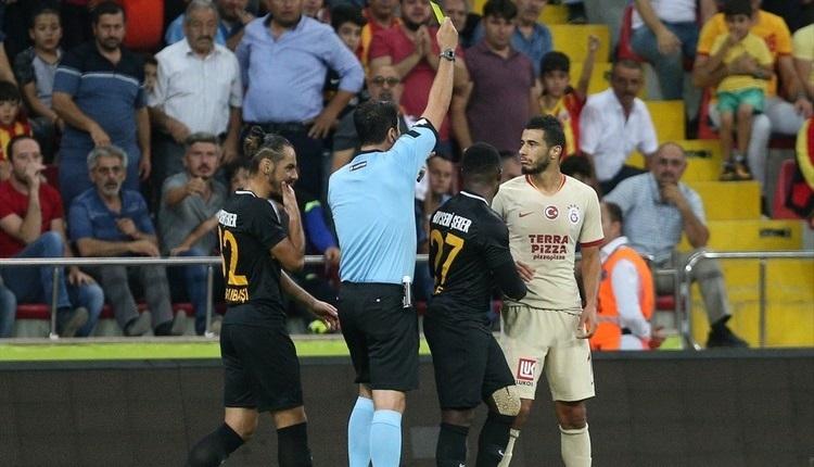 Kayserispor - Galatasaray tartışmalı pozisyonlar | Deniz Çoban yorumladı
