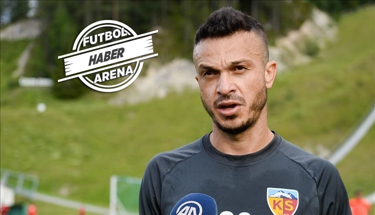 Kayserispor'da Fernando Boldrin Rizespor yolcusu