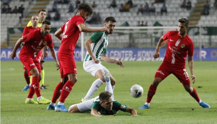 Konyaspor 2-2 Antalyaspor maç özeti izle (beIN Sports maç özetleri İZLE)