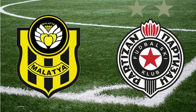 Malatyaspor - Partizan maçı canlı izle (TRT Spor canlı izle)