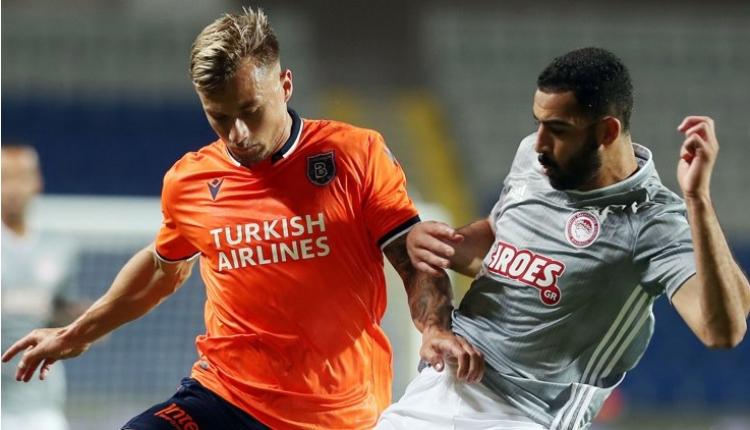 Medipol Başakşehir 0-1 Olimpiakos maç özeti (İZLE)