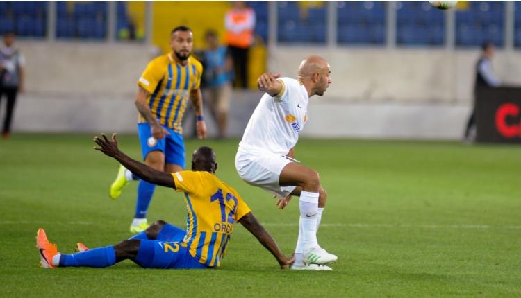 MKE Ankaragücü 1-1 Kayserispor maç özeti ve golleri (İZLE)