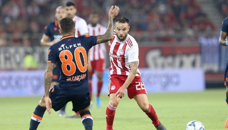 Olimpiakos 2-0 Medipol Başakşehir maç özeti ve golleri (İZLE)