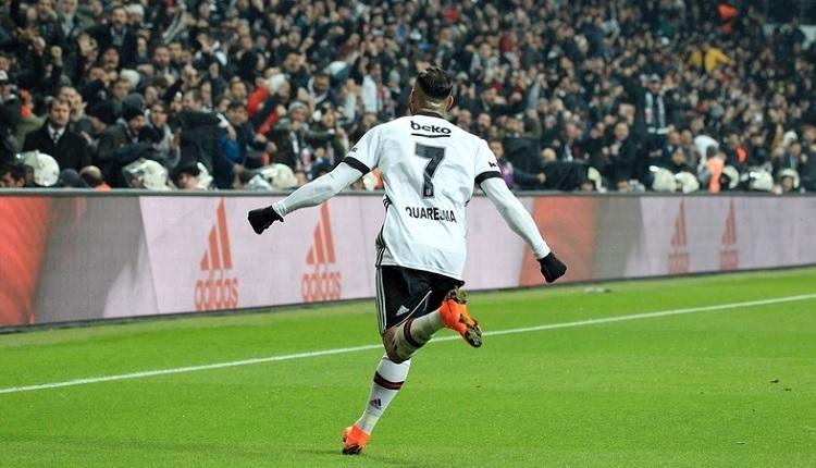 Quaresma'dan Beşiktaş'a duygusal veda: 'Sonsuza dek kalbimdesiniz.'