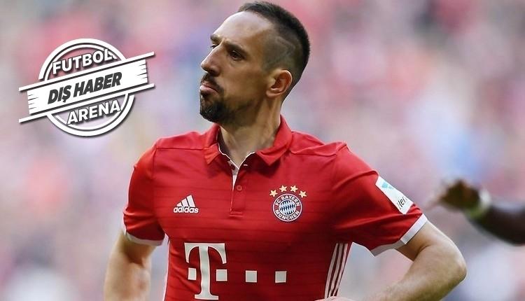 Ribery'ye Lokomotiv Moskova'dan teklif