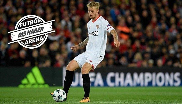 Simon Kjaer Sevilla'da hazırlık maçında sakatlandı