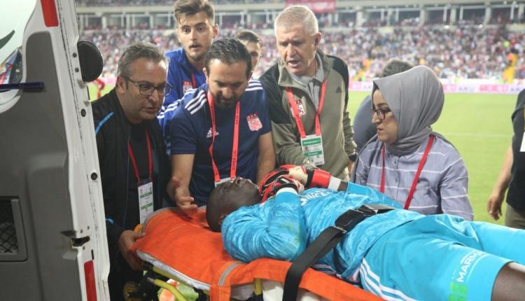 Sivasspor - Beşiktaş maçında Samssa hafıza kaybı yaşadı