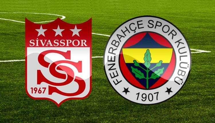 Sivasspor Fenerbahçe maçı saat kaçta, hangi kanalda?
