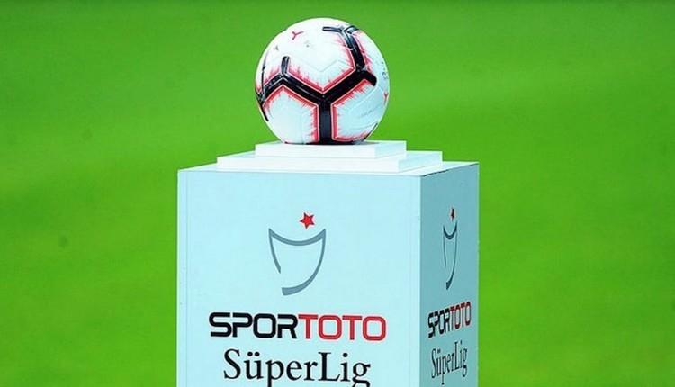 Süper Lig'de 1. haftanın fikstürü açıklandı (Süper Lig fikstürü)