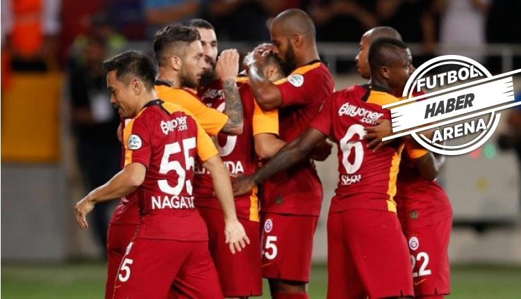 TFF Süper Kupa şampiyonu Galatasaray