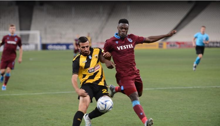 AEK 1-3 Trabzonspor maç özeti ve golleri (İZLE)