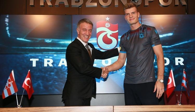 Trabzonspor, Alexander Sörloth transferini açıkladı! İlk sözleri