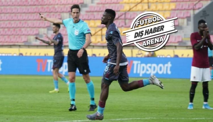 Trabzonspor Sparta Prag'ı şoka uğrattı! Çekya basını yazdı