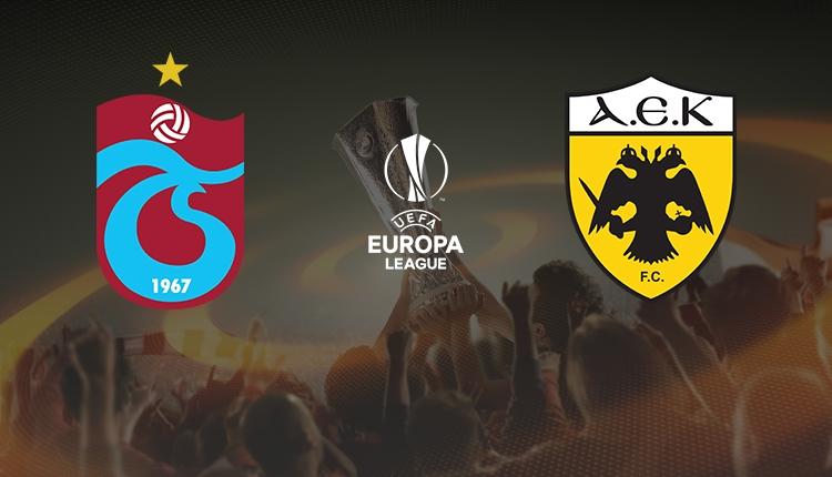 Trabzonspor-AEK maçı saat kaçta, hangi kanalda? Muhtemel 11'ler
