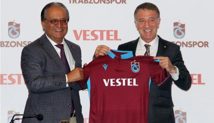 Trabzonspor, Vestel ile sponsorluk anlaşması imzaladı