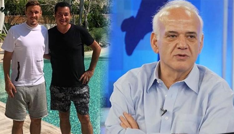 Acun Ilıcalı'dan Ahmet Çakar'a canlı yayında tepki