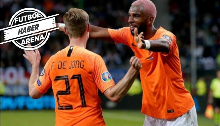 Almanya 2- 4 Hollanda geniş özeti ve golleri (İZLE)