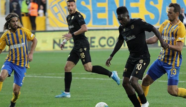 Ankaragücü 0-4 Yeni Malatyaspor maç özeti ve golleri İZLE