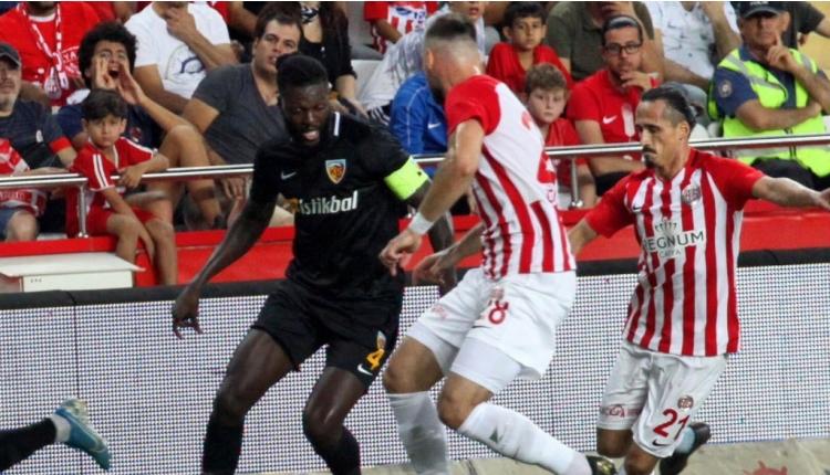 Antalyaspor 2-2 Kayserispor maç özeti ve golleri (İZLE)