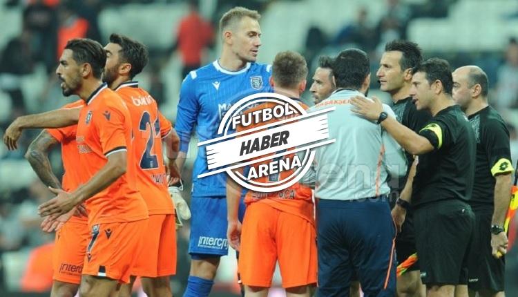 Başakşehir'den Beşiktaş maçında Douglas'a kırmızı kart isyanı