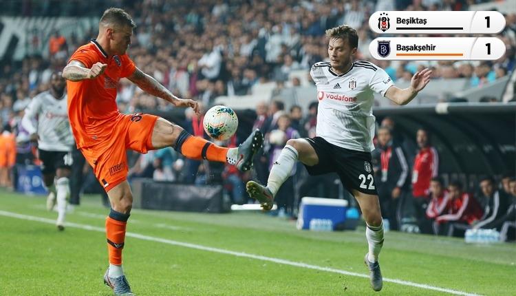 Beşiktaş ile Medipol Başakşehir puanları paylaştı (İZLE)