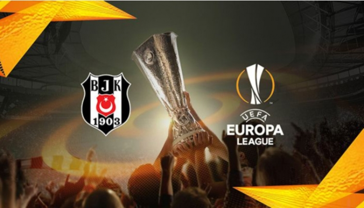 Beşiktaş'ın UEFA Avrupa Ligi kadrosu açıklandı