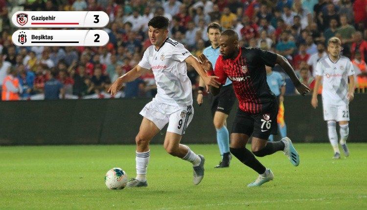 Beşiktaş'tan Gazişehir FK deplasmanında kayıp