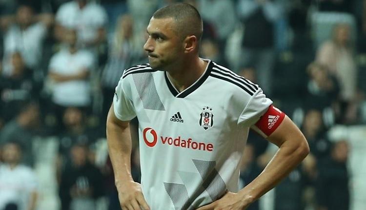 Burak Yılmaz'dan Beşiktaş taraftarlarına: