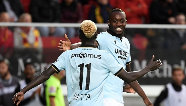 Diagne'den Club Brugge maçında 2 gol (İZLE)