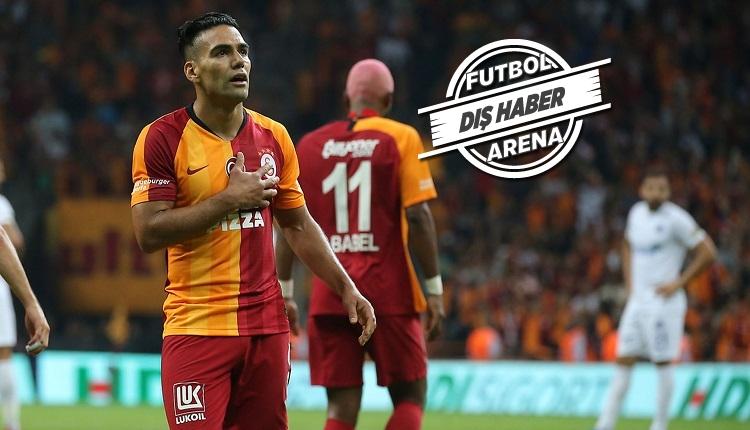 Falcao ve Galatasaray'ın maçları Kolombiya'da yayınlanacak