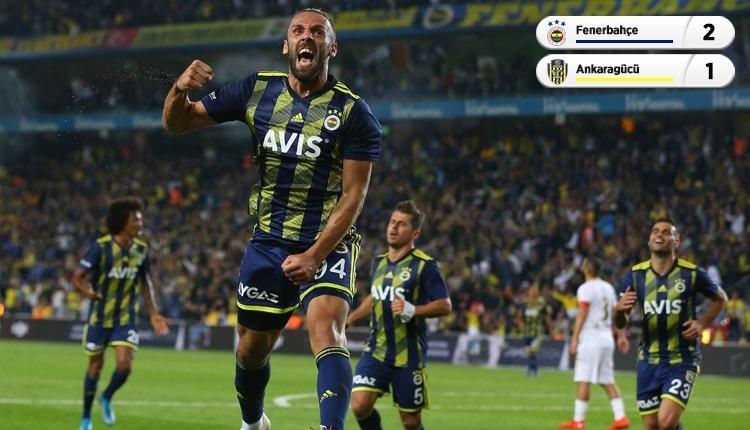 Fenerbahçe, Kadıköy'de Ankaragücü'nü 2-1 mağlup etti