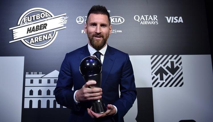 FIFA Yılın En İyi Futbolcusu Lionel Messi! İşte kazanan isimler